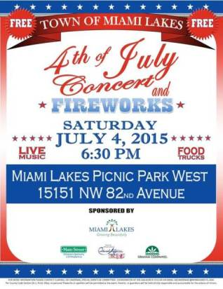 Town of Miami Lakes Fireworks