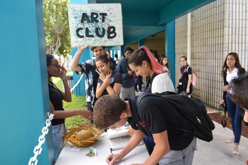 MLEC Hosts Annual Club Rush: Which did youjoin?