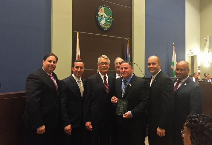 MLEC Principal James Parker Receives Lifetime AchievementAward