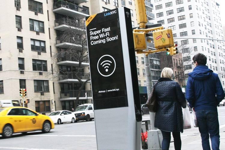 New York's Free FuturisticPayphones