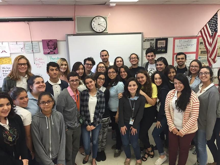 Boris Sanchez: MLEC Alumni and CNN Correspondent Returns toMiami