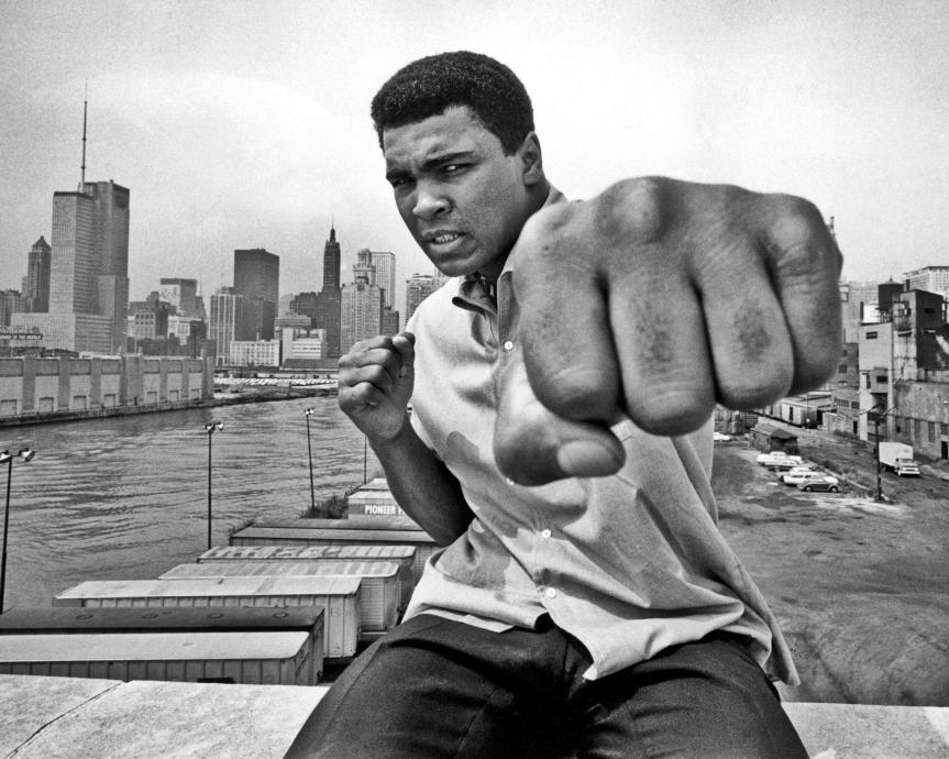 Muhammad Ali: Float Like a Butterfly, Sting like aBee