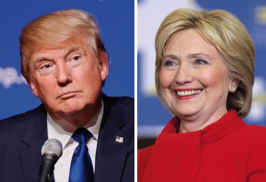 Two Views: Hillary Clinton vs. DonaldTrump
