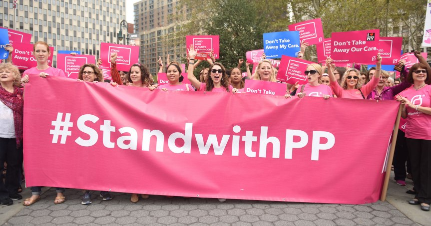 Planned Parenthood Faces Being Defunded Just Days After Trump'sInauguration