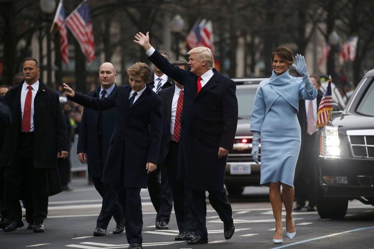 Donald Trump's InaugurationCeremony