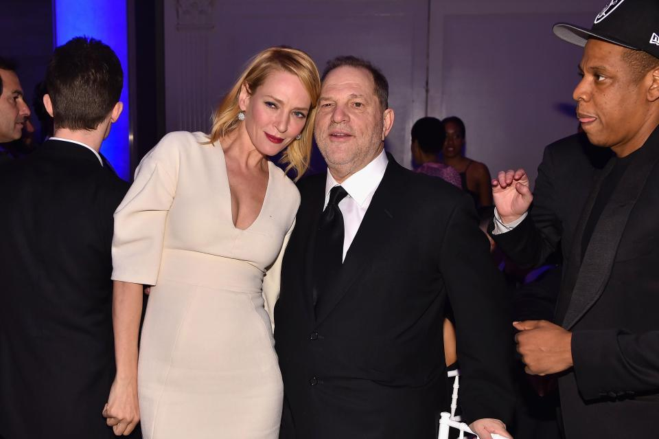 Uma Thurman: Harvey Weinstein Assaulted Me, Too