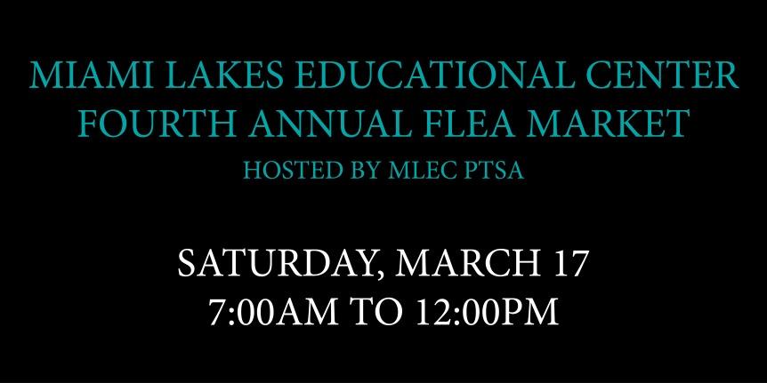 Miami Lakes Educational Center FleaMarket