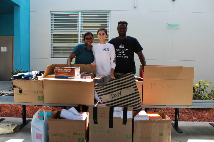 NHS's Yearly ClothingDrive